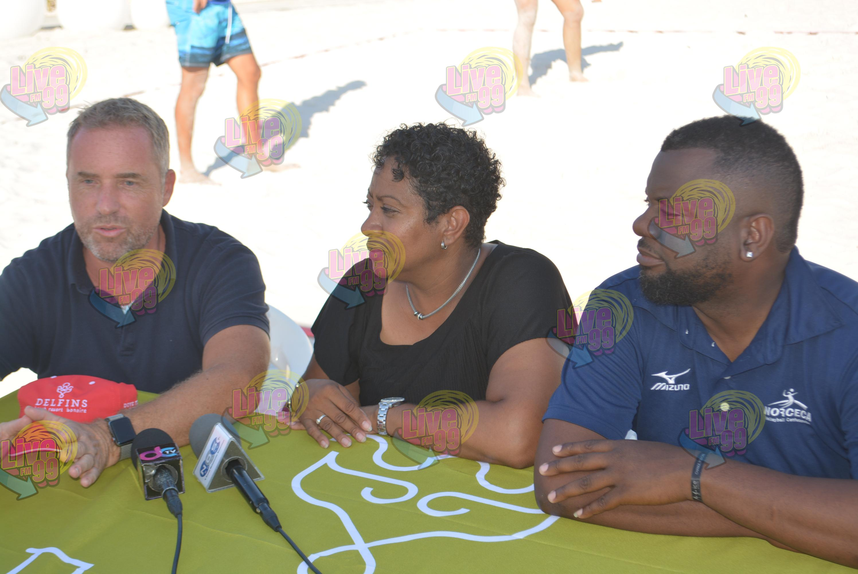 'BEACH VOLLEYBALL INTERNASHONAL'  ORGANISÁ PA NORSECA I BOVOBO
