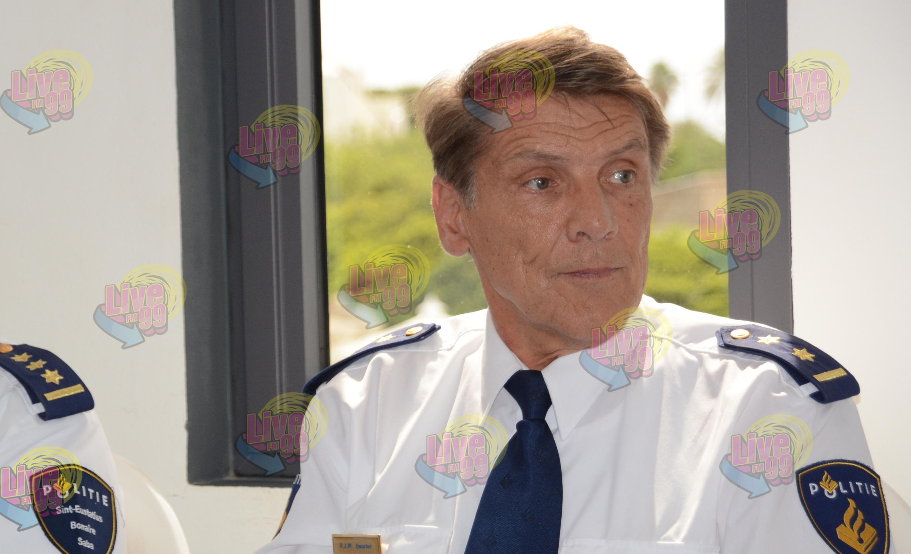 RONALD ZWARTER, HEFE SUPLENTE NOBO DI KUERPO POLISIAL KARIBE HULANDES.