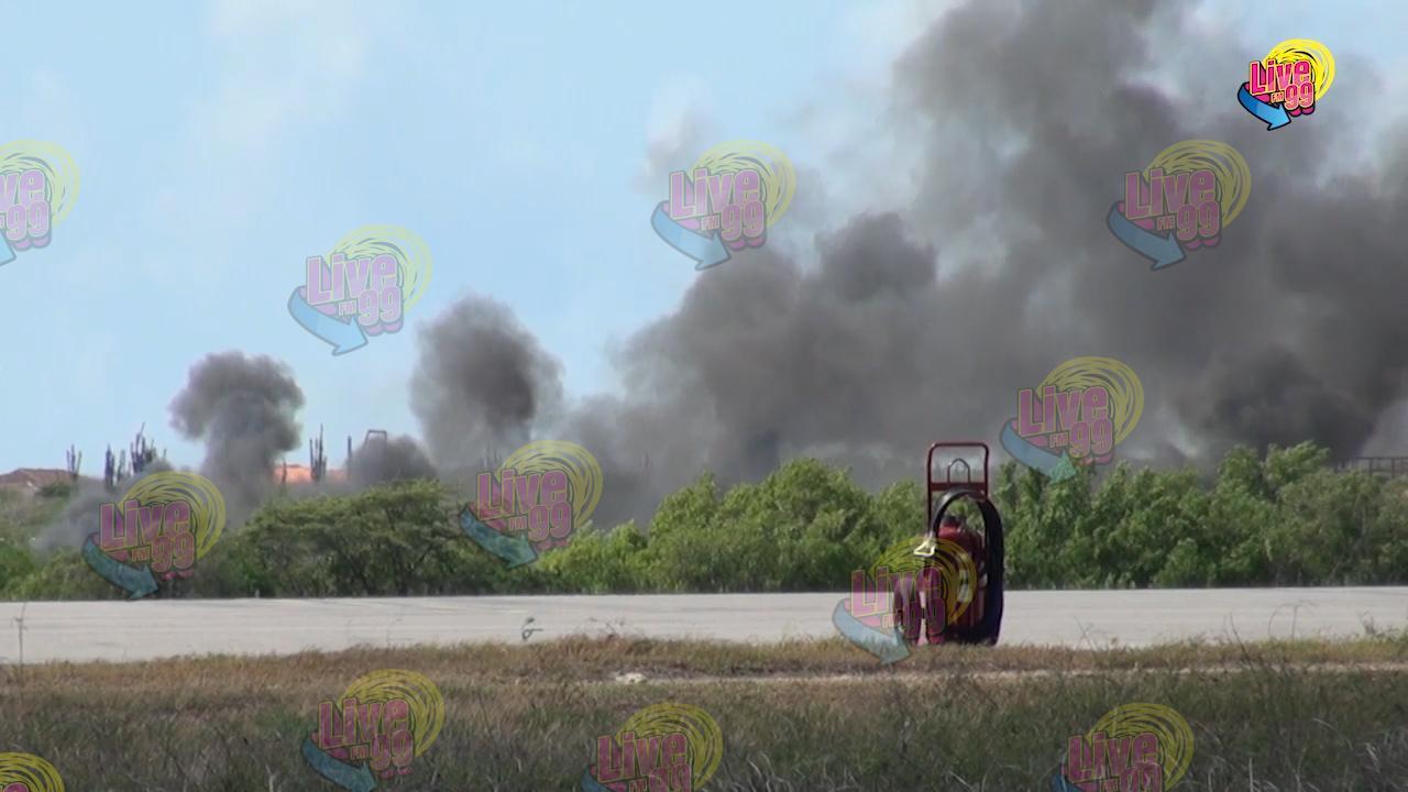 ENSAYO DI KALAMIDAT NA AEROPUERTO FLAMINGO A BAI BON