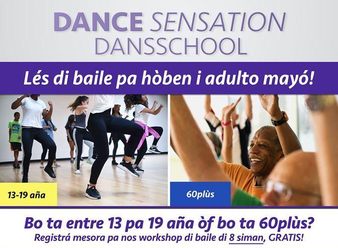 DANCE SENSATION KU TAYER DI BAILE GRÁTIS