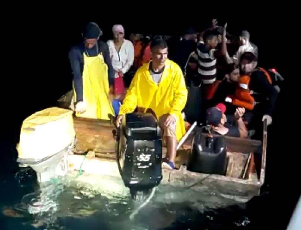A INTERCEPTA BOTO KU 14 INDOCUMENTADO DEN AWANAN TERITORIAL DI ARUBA