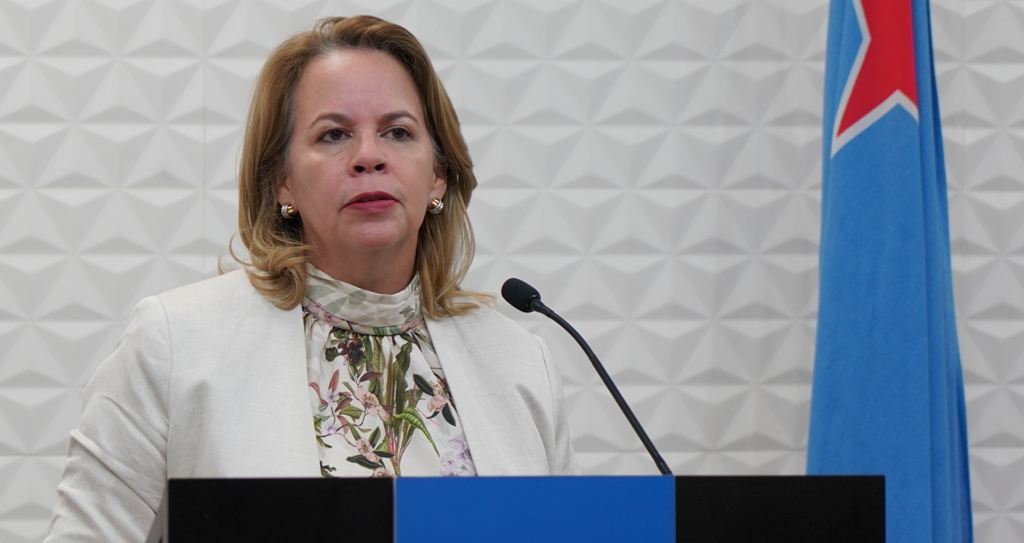"""PROME MINISTER WEVER-CROES: """"MI TA CONTA RIBA DISCIPLINA DI CIUDADANONAN PA KEDA PADEN Y CUIDA BO MES, BO FAMIA Y ARUBA""""."""