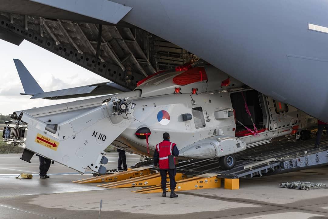 HELIKÒPTER NH90 NOBO NA KAMINDA PA REGION KARIBE