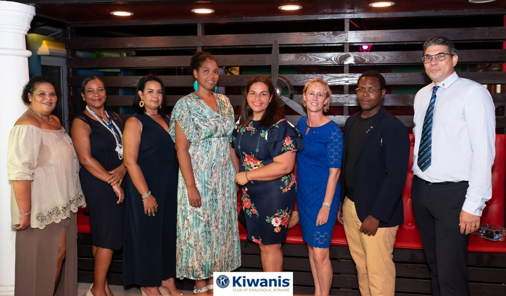 KIWANIS CLUB OF KRALENDIJK BONAIRE TA ANUNSIÁ DIREKTIVA NOBO PA 2020-2021