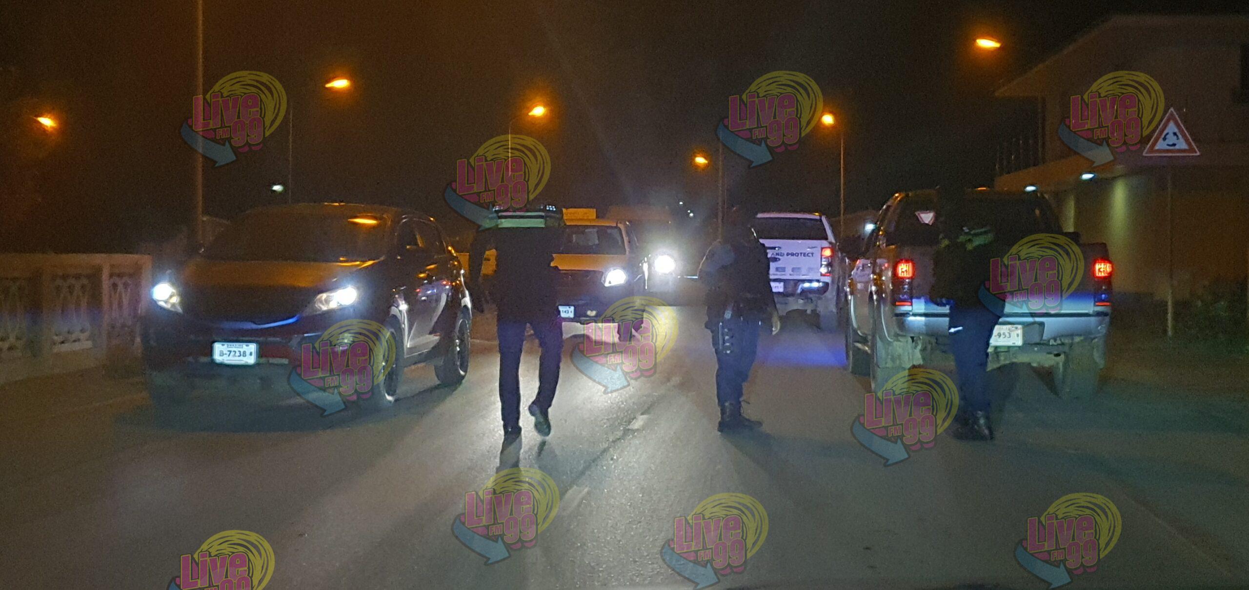 POLIS A PARTI 23 BUT DURANTE PROMÉ ANOCHI DI 'TOQUE DE QUEDA'