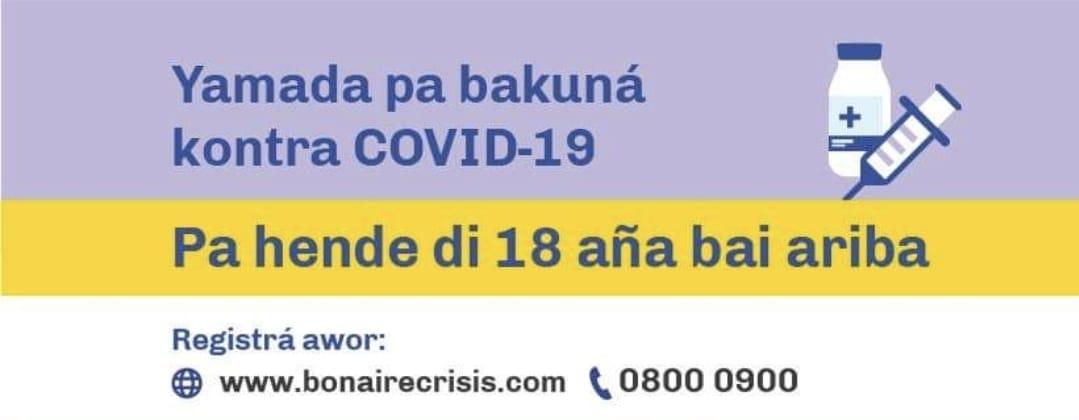 NUMBER DI TELEFON NOBO 0800 0900 PA SITA PA ANGUA KONTRA CORONA