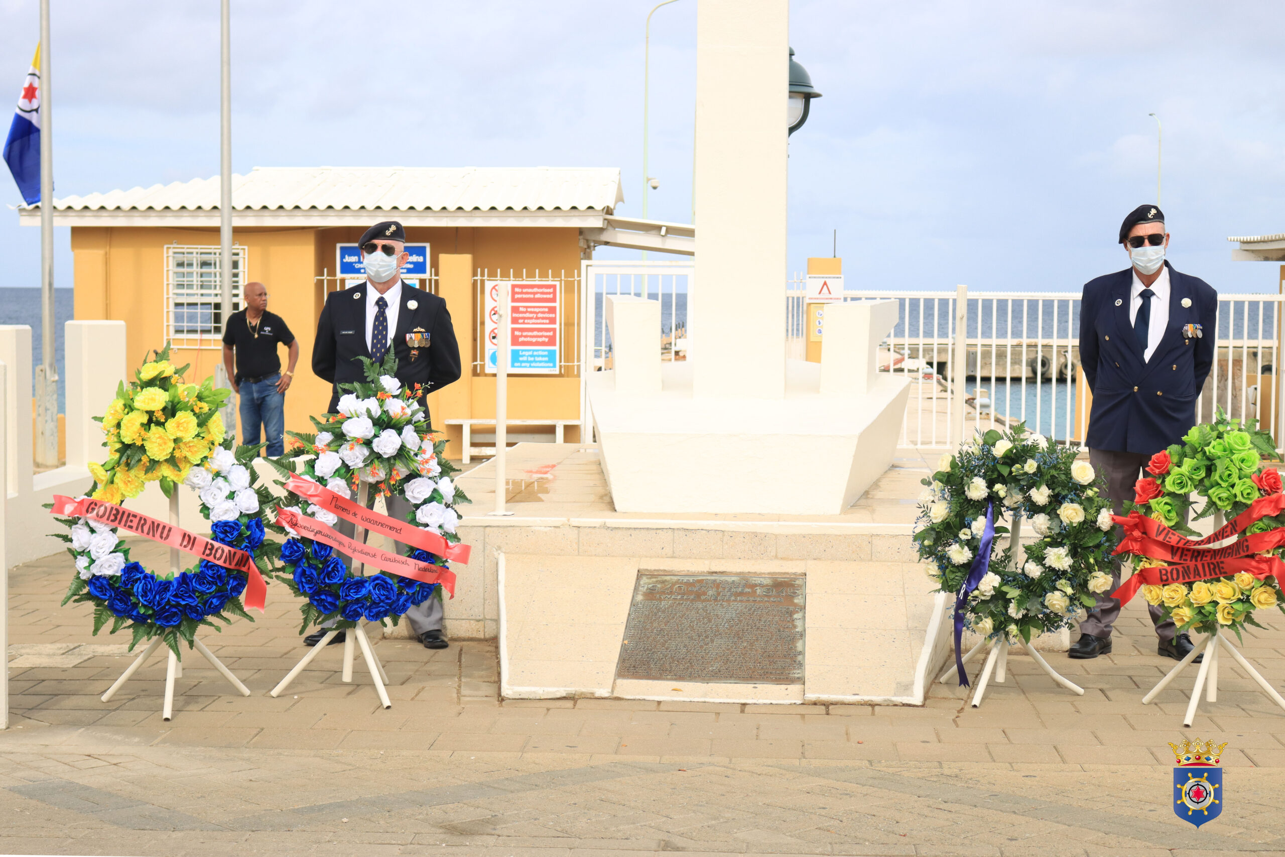 WAK BÈK RIBA 75 AÑA LIBERTAT DURANTE KONMEMORASHON FAYESIDONAN GUERA MUNDIAL