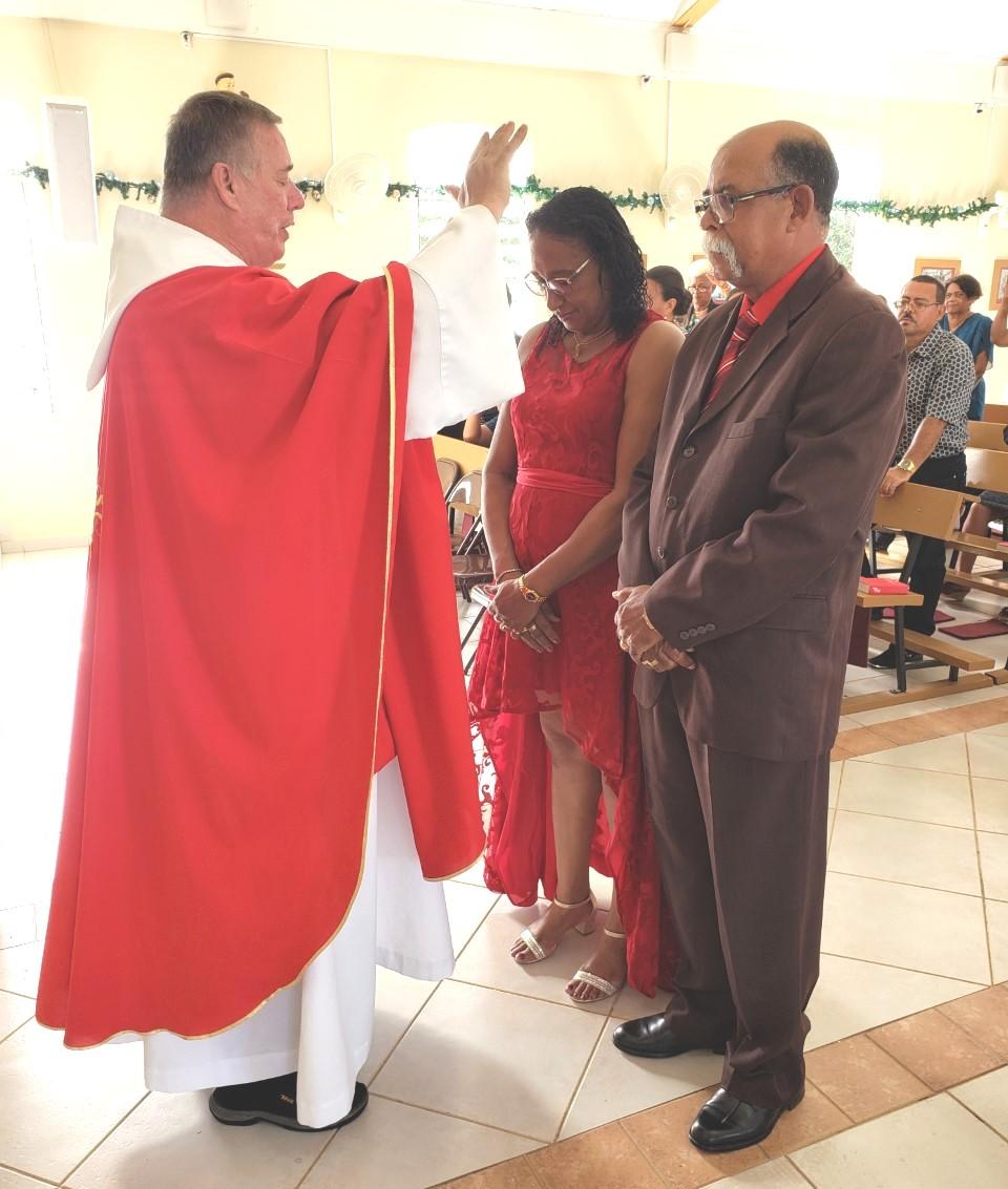 2 DIA DI PASKU GEORGE I NATALIE ABRAHAMS 40 BIDA MATRIMONIAL