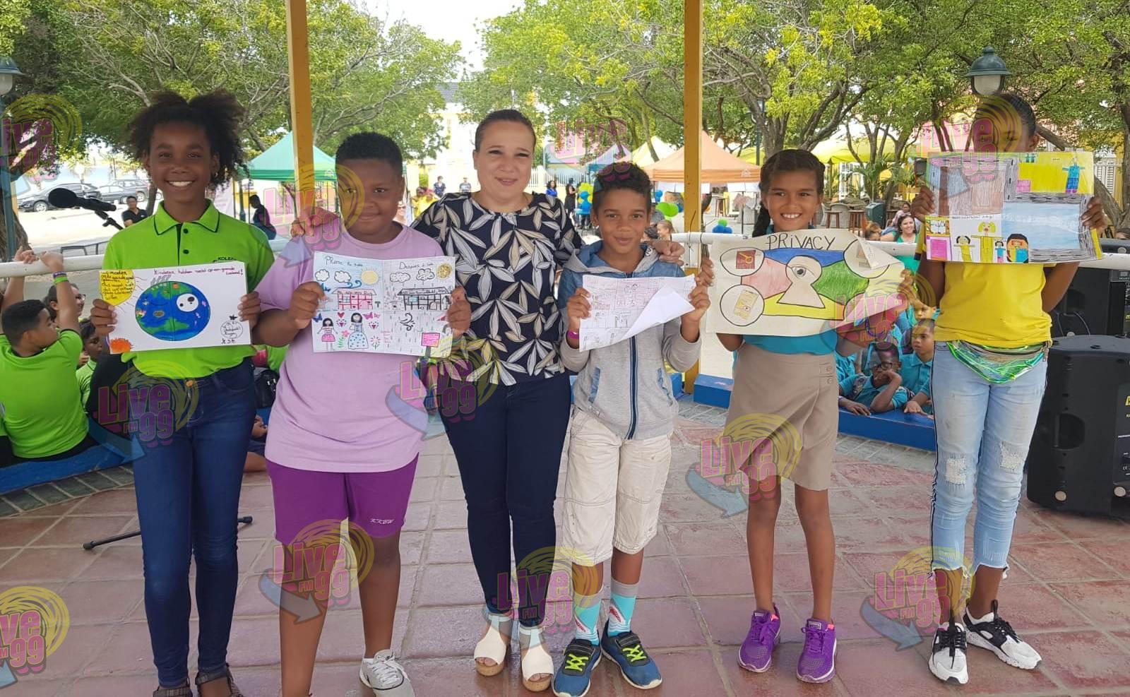 EVENTO INTERINO DI UNICEF SU FESTIVAL DI PELÍKULA TOKANTE DERECHO DI MUCHA