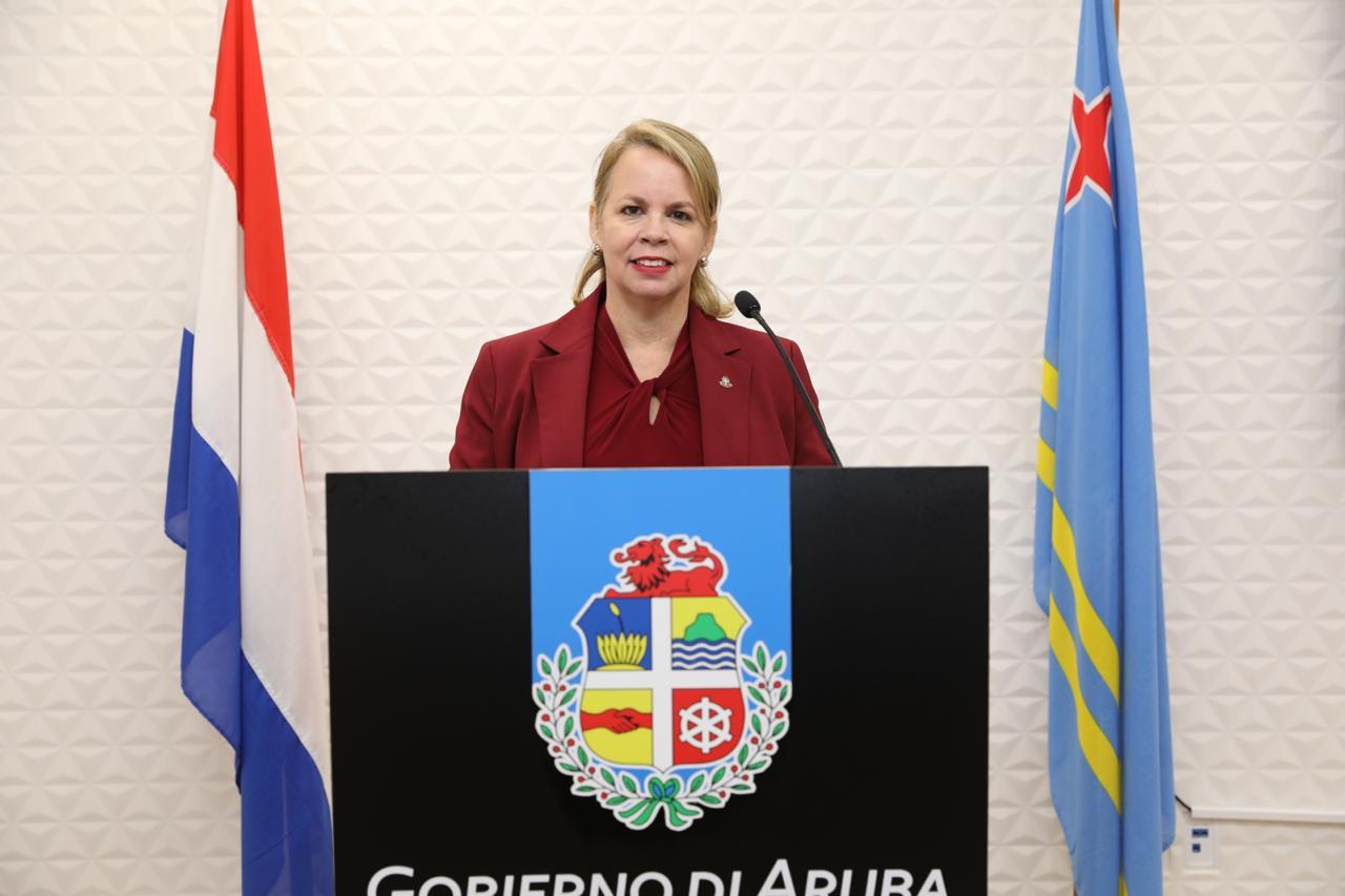 GOBIERNO DI ARUBA TA TRAHANDO RIBA E REAPERTURA DI FRONTERA