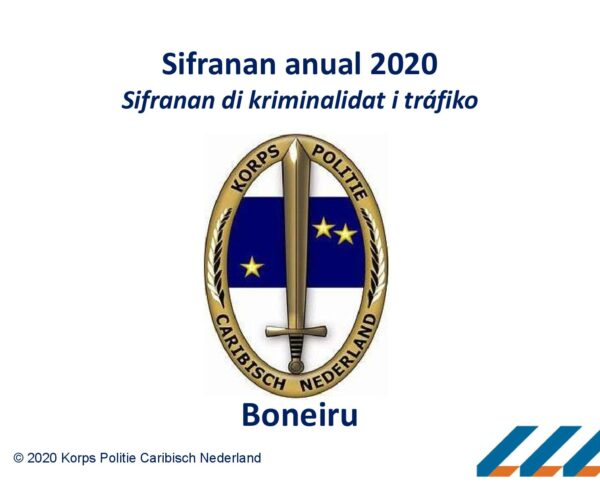 SIFRANAN DI TRÁFIKO I DI KRIMINALIDAT 2020.