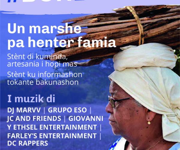 GRANDIOSO MARSHE #BONBAKUNÁ NA MANGAZINA DI REI